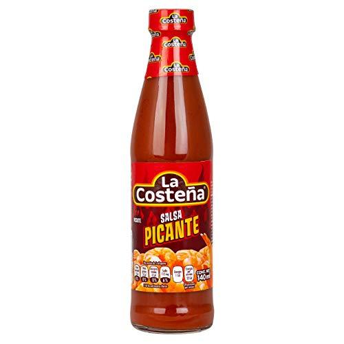 La Costena Salsa Picante | 140ml | Mexikanische Küche | pikant | nicht zu scharf | aus Jalapeno | für Speisen aller Art | Hervorragender Geschmack