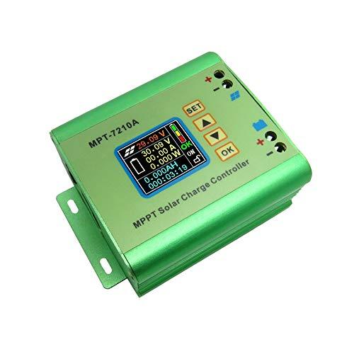 CVBN MPT-7210A 24/36/48/60 / 72V LCD Couleur DC-DC MPPT contrôleur de Charge de Panneau Solaire, Vert