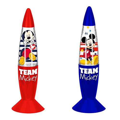 Lot de 2 Lampes Led à Paillettes Mickey - Effet scintillant - 18 cm - La Pat Patrouille – mickey mouse - Disney