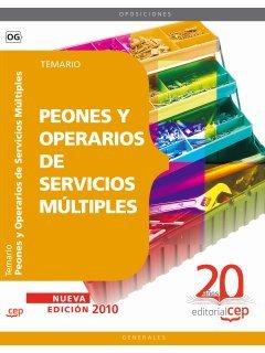 Peones y Operarios de Servicios Múltiples. Temario (Colección 91)
