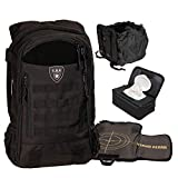 Tactical Baby Gear Daypack 3.0 Tactical Diaper Bag Backpack Combo Set (Black)