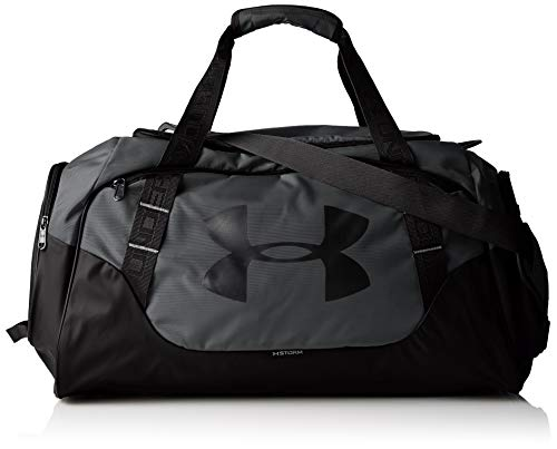 Under Armour Undeniable Duffle 3.0 Gym Bag , Graphite (040)/Black , Medium