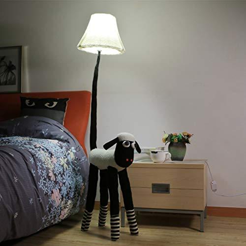 XIN Lámpara de pie para el hogar, lectura de pie de pie, lámpara de pie creativa Mesa de animales de dibujos animados Lam Cute Children 'S Decoración de la habitación Lámpara de pie Lámpara de pie si