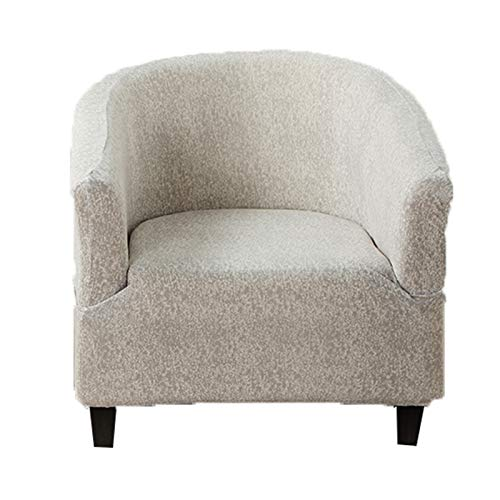 KAISUN Stretch Tub Chair Cover,Tub Stuhl Sessel,Club Chair Schonbezug,Anti-Rutsch-High Stretch Tub Chair Cover,Universal Tub Chair Protector Cover Dekoration (TYP 7)