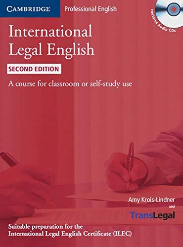 International Legal English: Student's Book + 3 Audio CDs