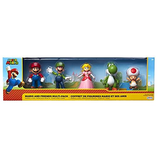 Nintendo Mario und Friends Figuren 5er Set, 6,5 cm