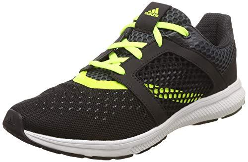 Adidas Men Yamo 1.0 M Cblack/Syello/Dkgrey Running Shoes-10 UK/India (44 EU) (Ci1821_10)