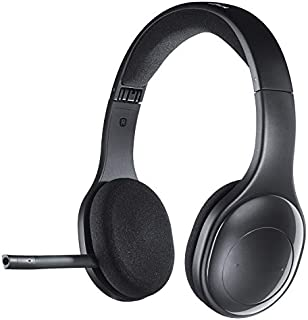 Logitech H800 Bluetooth Wireless Headset with Mic for PC, Tablets and Smartphones - Black