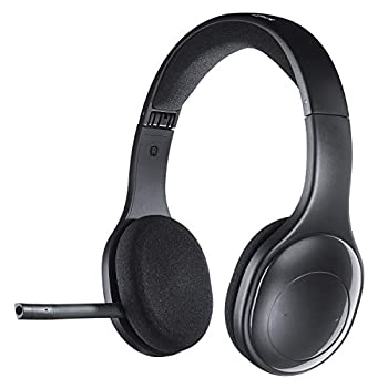 Logitech H800 Bluetooth Wireless Headset with Mic for PC Tablets and Smartphones Black