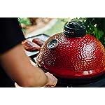 Kamado Joe KJ23RH Classic I Charcoal Grill, Blaze Red