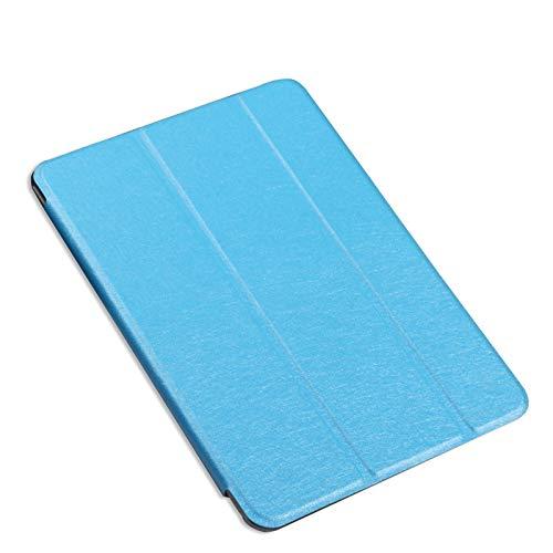 Housse pour Huawei MediaPad M2 10 10,1 Pouces M2-A01M M2-A01L M2-A01W Housse pour Support Pliable Support pour Tablette Housse en Cuir Housse de Protection-Bleu