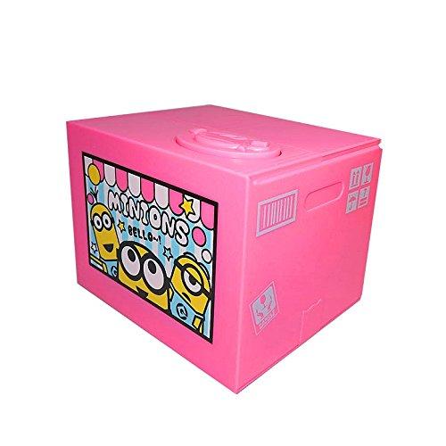 MINIONS Trick Saving Box - elektrische Spardose - Pink Japan Import