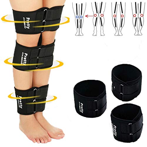 O/X Leg Type Correction Belt, (3 Pack) Adjustable Leg Correction Band, Correction Brace Belt Knock Knees Valgus Deformity Bow Legs Band Straighten Belt
