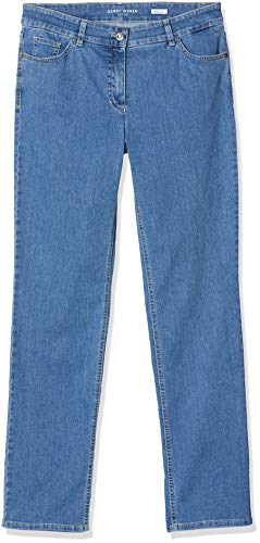 Gerry Weber Hose Jeans LANG Straight FIT BLAU Denim - 48/S
