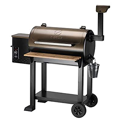 Z GRILLS 2021 New Model Wood Pellet Grill BBQ Smoker Outdoor Cooking ZPG-5502G