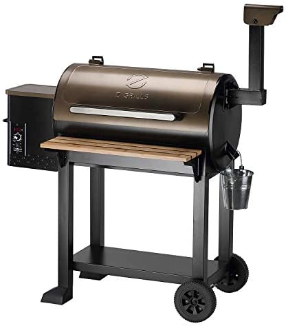 Z GRILLS 2021 New Model Wood Pellet Grill BBQ Smoker Outdoor Cooking ZPG 5502G product image