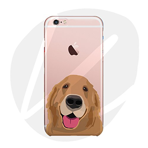 Sleeping bear)Case Cover per Apple iPhone 7/8,Adorabile Animale Cane/Dog del Fumetto(Golden Retriever) del Telefono della Copertura della Caso Sottile TPU Custodia+Cordoncino-Golden Retriever