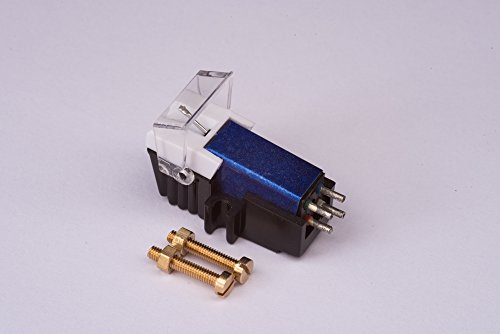 Cartridge and Stylus, needle with mounting bolts for YAMAHA YP211, YP400, YP450, YP700, YP800, YPB2, YPB4, YPD6, YPD71, YPD8, P500, P05, P06, P07, P17, P20, P751, P850, PF1000
