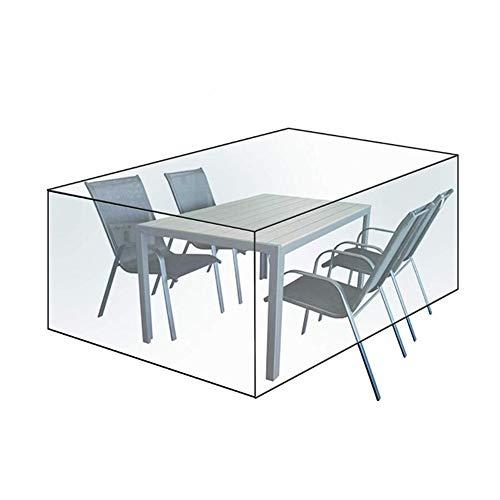 WKZWY Funda Muebles Jardin Impermeable Transparente Lona Alquitranada Protector Mesa De Café Dispositivo A Prueba De Polvo Anti-oxidación, 31 Tamaños (Color : Clear, Size : 90x90x90cm)