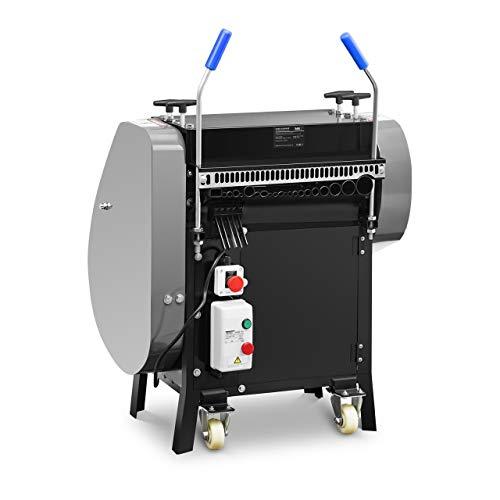 MSW Machine À Dénuder Dénudeuse Dégaineuse Fils Électriques Câbles MSW-WIRESTRIPPER-003-2200 (21 Entrées, 2200 W, 23 m/min)