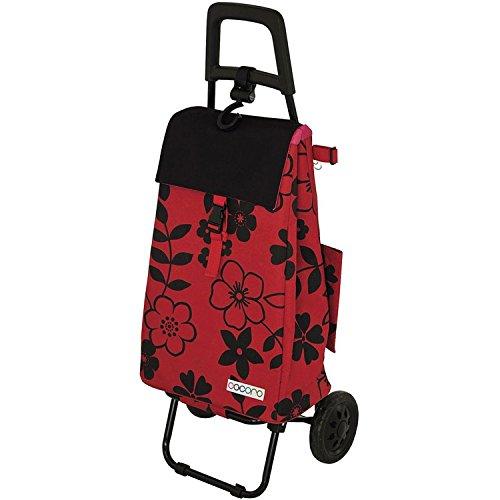 レップ(REP) ショッピングカート レッド 容量40L 保冷 買い物 バッグ らくらく COCORO(コ・コロ) 424407