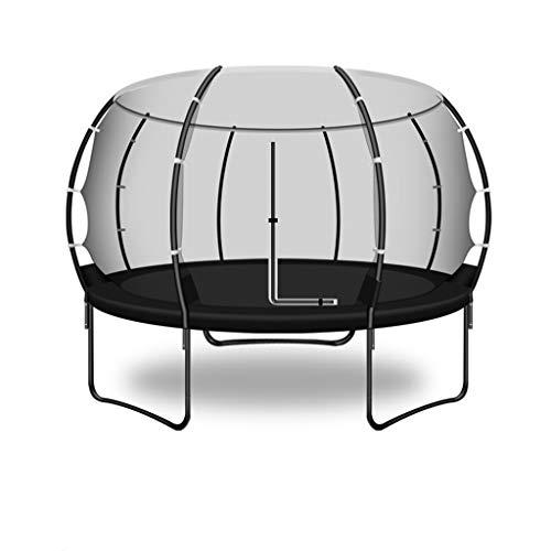 Yxsd-Trampoline (zwart volwassen kinderen beschermend net binnen en buiten grote trampoline