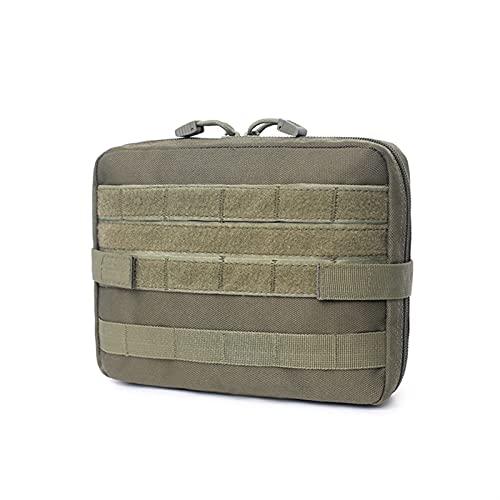 First Aid Kit Kit Médico al aire libre, Kit de emergencia, Camping y Multi-Tool Kit de accesorios Botiquines (Color : Verde militar)