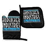 zsxaaasdf NI The Hudsucker Proxy Industries, Tapa de Camionero - Mitones de Horno y Soportes para ollas Cocina Resistente al Calor Cocina para Hornear