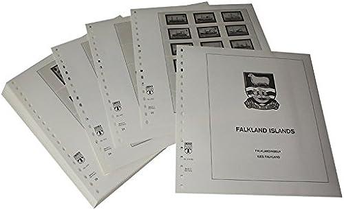 Lindner T Vordruckbl er T410 82 Falkland-Inseln und abh ige Gebiete (Süd-Georgien und Süd-Sandwich-Inseln) - Jahrgang 1982 bis 1991