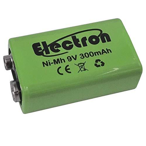 Pila batería recargable Ni-MH 9V 300mAh 9V NiMH acumulador battery