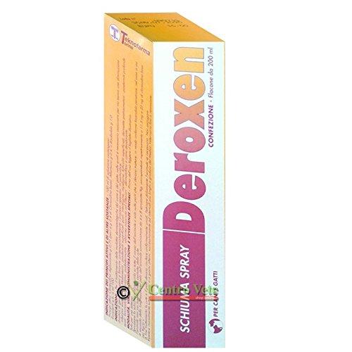 DEROXEN SCHIUMA SPRAY 200 ml - Cura le malattie dermatologiche del cane e del gatto.