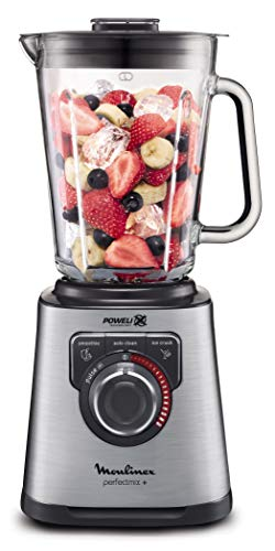 Moulinex Perfect Mix+ LM811D - Batidora de vaso de 1200 W,
