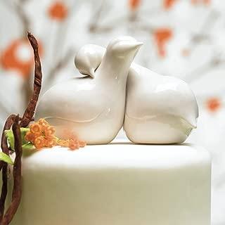 Weddingstar Contemporary Love Birds Cake Topper
