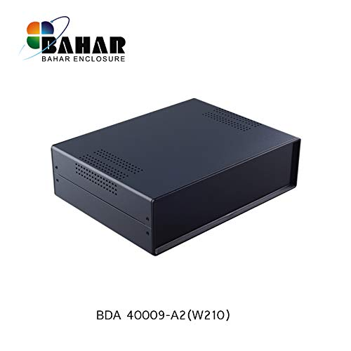 Bahar Enclosure Metallgehäuse Iron Case Eisen Gehäuse Eisengehäuse Leergehäuse Projekt Box aus Metall Hard Box Case 280*80*210 mm BDA 40009-A2 (W210)