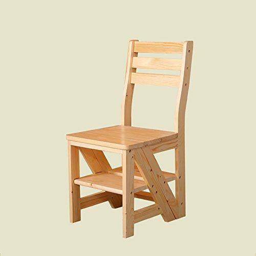 Zhangrong- Multifonction Ménage Chaise Pliante Balcon étagère Échelle 420 mm * 465 mm * Assise Height450 mm – -Sofa Tabouret