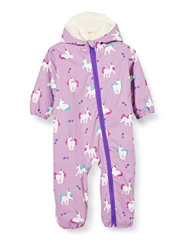 Hatley Baby-Mädchen Printed Bundler Schneeanzug, Farbwechsel Verspielte Einhörner, 18-24 Monate