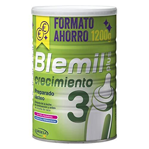 Blemil Plus Crecimiento 3 Leche de Continuación, Preparado Lácteo, 1200g