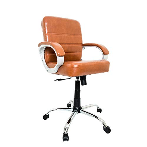 CELLBELL C105 Mid-Back Office Chair [Tan]