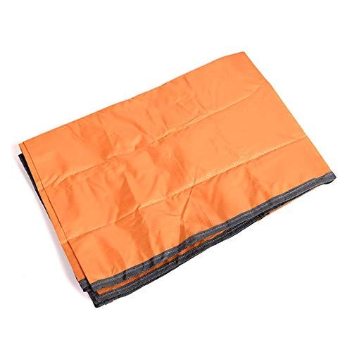 KANGIRU Camping Stranddecke Camping Picknick wasserdichte Decke Für Outdoor und Reisen Kochen (Orange)