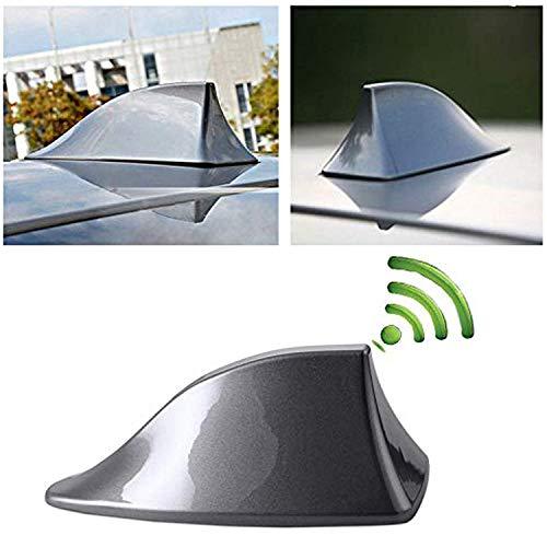Antena Universal para Coche, diseño de Caballo de tiburón, Antena de Radio FM con Base Adhesiva, Resistente al Agua