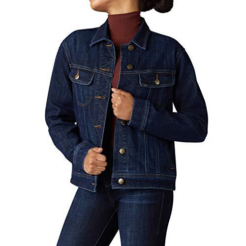Lee Damen Iconic Regular Fit Jacket Jeansjacke, Solstice, Groß