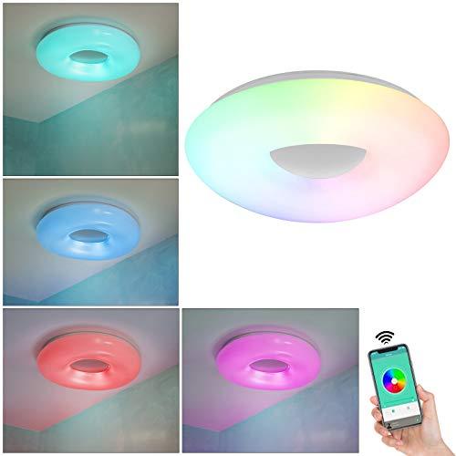 Plafón Smart WiFi LED 36 W RGB multicolor luz blanca CCT APP Alexa Google