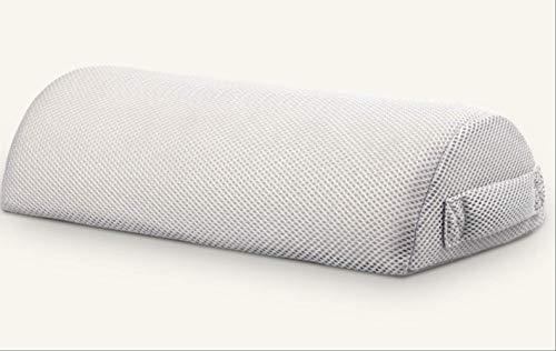 unknow Bein Kissen Health Care Memory Foam Kissen Massagegerät Yoga Büro Schlafbett Kissen Schwangerschaftskissen für Frauen Knie Rückenstütze 1 Stück Netto Weiß
