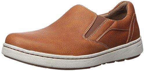 Dansko Men's Viktor Fashion Sneaker, Russet Tumbled Full Grain, 42 Regular EU Brown