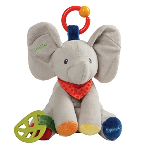 Baby GUND Flappy the Elephant Activity Toy for Educational Play Stuffed Plush 85