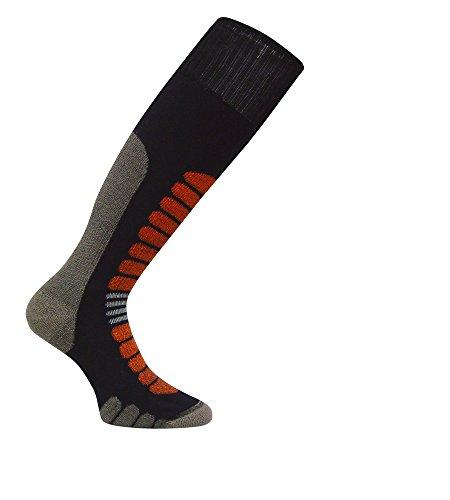 Eurosocks 0912Board Supreme OTC Snow Board Socken–Paar, Damen Unisex, schwarz, S