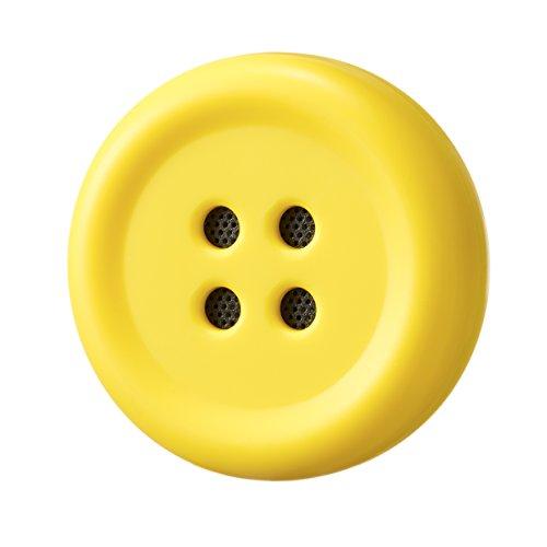 Pechat(ペチャット) イエロー ぬいぐるみをおしゃべりにするボタン型スピーカー【英語にも対応】 P01