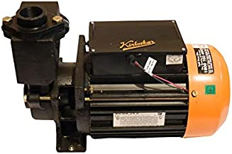 Kirloskar Mega 54S 1.5HP Monoset Single Phase Pump, Multicolour