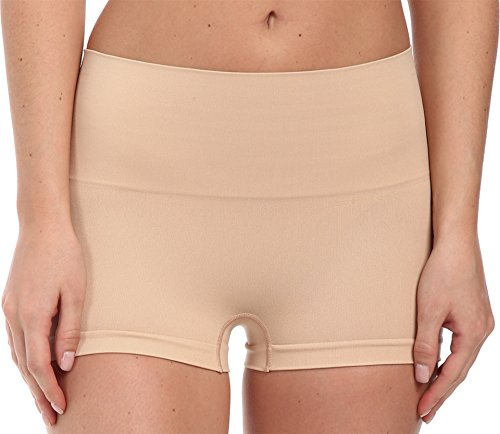 SPANX Everyday Shaping Panties Boyshort Soft Nude SM