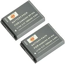 DSTE Replacement for 2X BP-85A Li-ion Battery Compatible Samsung WB210 PL210 SH100 Cameras as BP85A EA-BP85A